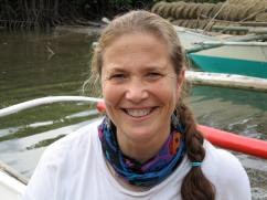 Dr. Amanda Vincent, marine biologist and conservation scientist, will be featured as a plenary speaker at the 3rd International Marine Conservation Congress in August 2014. (Photo courtesy of Amanda Vincent)