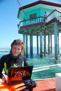 Dr. Heather Koldewey, marine biologist and seahorse specialist, will be featured as a plenary speaker at the 3rd International Marine Conservation Congress in August 2014. (Photo courtesy of Heather Koldewey)
