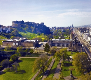 National Galleries with Princes St Gardens (1)